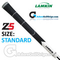 Lamkin Z5 Multicompound Cord Grips - Black / White / Grey