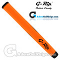 G-Rip ST-1 Straight Taper Midsize Putter Grip - Orange / Black