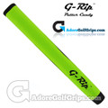 G-Rip ST-1 Straight Taper Midsize Putter Grip - Lime Green / Black