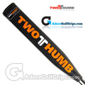 2 Thumb Big Daddy Light Putter Grip - Black / Orange / White