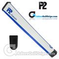 P2 Classic Jumbo Putter Grip - White / Blue