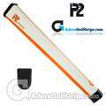 P2 Aware Midsize Putter Grip - White / Orange