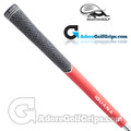 Iguana Golf Tour Density Hybrid Cord Grips - Black / Red