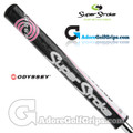 SuperStroke Odyssey Mid Slim 2.0 Putter Grip - Black / Pink / White