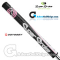 SuperStroke Odyssey Ultra Slim 1.0 Putter Grip - Black / Pink / White