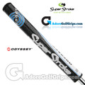 SuperStroke Odyssey Mid Slim 2.0 Tribecca Putter Grip - Black / Blue / White