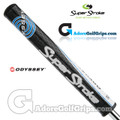 SuperStroke Odyssey Slim 3.0 Tribecca Putter Grip - Black / Blue / White
