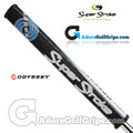 SuperStroke Odyssey Flatso 1.0 Tribecca Putter Grip - Black / Blue / White