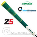 Lamkin Z5 Multicompound Cord Masters Limited Edition Midsize Grips - Green / White / Yellow