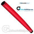Forward Golf Midsize V-Shape Putter Grip - Red / Black
