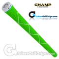 Champ C8 Grips - Neon Green / White