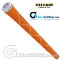 Champ C8 Grips - Neon Orange / White