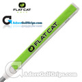 Flat Cat Golf Svelte 12 Inch Midsize Putter Grip - White / Green / Black