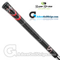 SuperStroke Cross Comfort Grips - Black / Red