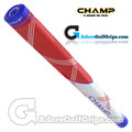 Champ C1 Small Midsize Putter Grip - Red / White / Blue