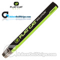 Flat Cat Golf Solution Standard 12 Inch Midsize Putter Grip - Black / Green / White