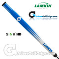 Lamkin Sink HD 15 Inch Midsize Paddle Putter Grip - Blue / White