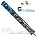 SuperStroke Flatso 1.0 Legacy Series Putter Grip - Midnight Black / Blue / Silver