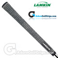 Lamkin Crossline Midsize Full Cord Grips - Black / White