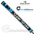 SuperStroke Pistol GTR Tour Legacy Series Putter Grip - Midnight Black / Blue / Silver