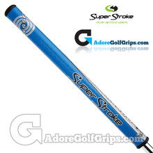 SuperStroke Odyssey Mid Slim 2.0 Tank Cruiser Counterbalance Putter Grip - Blue / Silver / Black