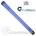 The Grip Master Pittards Ethiopian Cabretta Leather Stitchback Midsize Pistol Putter Grip - Blue