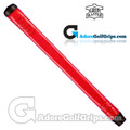 The Grip Master Pittards Ethiopian Cabretta Leather Stitchback Midsize Pistol Putter Grip - Red