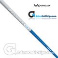 """Grafalloy ProLaunch Blue Wood Shaft - Regular Flex - 0.335"""" Tip - Blue / Silver"""