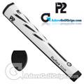 P2 Reflex TOUR Giant Putter Grip - White / Black