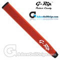 G-Rip FL-1 Jumbo V-Shape Light Putter Grip - Burnt Orange