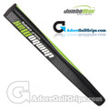 JumboMax Mid Jumbo Pistol Putter Grip - Black / Lime Green / White