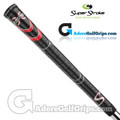 SuperStroke Cross Comfort Midsize Grips - Black / Red