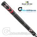 SuperStroke Cross Comfort Jumbo Grips - Black / Red