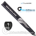 TourMARK New Zealand Jumbo Pistol Putter Grip - Black / White
