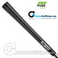 Pure Grips P2 Wrap Standard Grips - Black