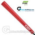Pure Grips P2 Wrap Midsize Grips - Red