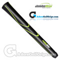 "JumboMax Tour Series Giant (MEDIUM +5/16"") Grips - Black / Lime Green"
