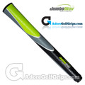 "JumboMax Tour Series Giant (MEDIUM +5/16"") Grips - Black / Grey / Lime Green"