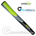 "JumboMax Tour Series Giant (X-LARGE +3/8"") Grips - Black / Grey / Lime Green"