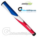 "JumboMax Tour Series Giant (X-LARGE +3/8"") Grips - Red / White / Blue"