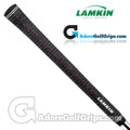 Lamkin Players Cord Standard Grips - Black / Red / White