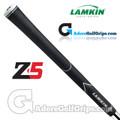 Lamkin Z5 Black Standard Grips - Black / White