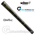 Winn Dri-Tac Grips - Black / Lime Green