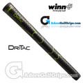 Winn Dri-Tac Midsize Grips - Black / Lime Green
