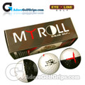 EyeLine Golf MyRoll 2 Colour Golf Balls Putting Aid - 3 Pack