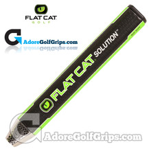 Flat Cat Golf Solution Big Boy 12 Inch Giant Putter Grip - Black / Green / White