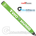 2 Thumb Snug Daddy 27 Putter Grip - Green / White / Silver