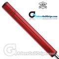 The Grip Master Signature 2.0 / FL27 Cabretta Leather Sewn Midsize Featherlite Putter Grip - Red
