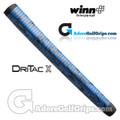 Winn Dri-Tac X Medallist Pistol Putter Grip - Blue / Black Marble