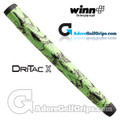 Winn Dri-Tac X Medallist Pistol Putter Grip - Lime Green / Black Marble